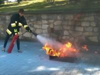 Jak gasić pożar