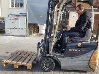 szkolenie na obsługę wózka jezdniowego podnośnikowego II WJO 5